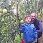 Santiago con Papà